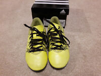 Adidas Studded Boots - size 13 - very good condition
