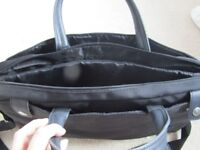 Black Laptop Bag. Perfect condition. Hardly used.