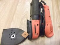 2 in 1 Black&Decker sander (sheet and orbital sander)