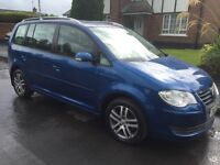 07 VOLKSWAGEN TOURAN 1.9 TDI SE FSH 7 SEATER P/EX WELCOME