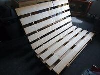 Double sized Ikea futon frame excellent condition. Can deliver.