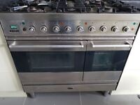 Britannia heavy duty range cooker 90cm stainless steel can deliver