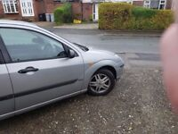 Ford focus 1.6 in silver .. *REDUCED PRICE BARGAIN*