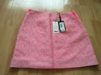Ted baker skirt size 1 pink mix