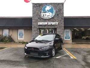 2013 Mitsubishi LANCER EVOLUTION GSR! FINANCING AVAILABLE!