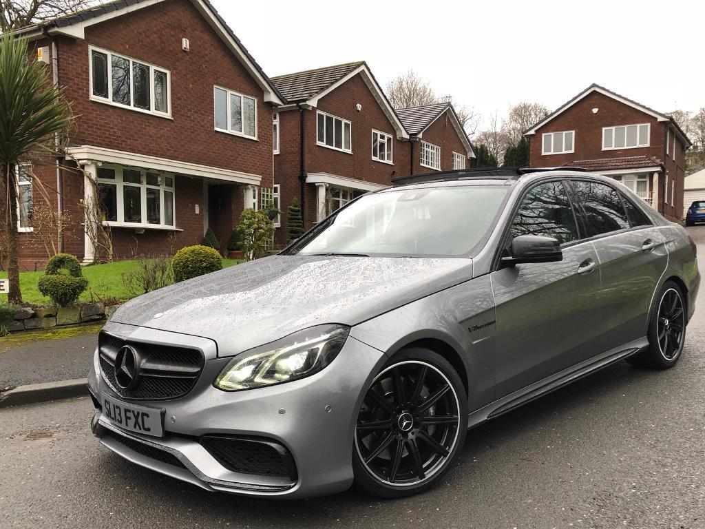mercedes benz e63 amg night edition 5 5 bi turbo 2013 every optional extra part ex in oldham. Black Bedroom Furniture Sets. Home Design Ideas