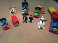 Thomas and friends trains and figures