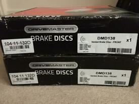 Bmw brake discs front dmd138
