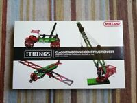 Meccano Classic Construction Set. Never used.
