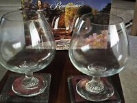 Over Sized Brandy Glasses. A bargain @ £4