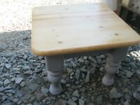 MODERN SOLID PINE ORNATE SQUARE COFFEE TABLE. VERY ATTRACTIVE. VIEWING/DELIVERY AVAILABLE