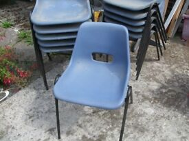 11 , stacking chairs