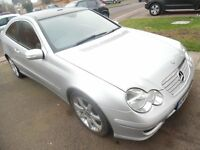 not breaking not spare or repair need engine atention mercedes c180 2007reg silver nice cheap