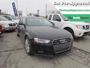 2013 Audi A4 2.0T | AWD | LEATHER | ROOF | ONE OWNER London Ontario image 1