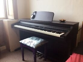 88-key Digital Piano TG-8815 plus Sennheiser Headphones (and stool if required)