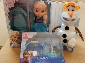 DISNEY Frozen bundle of 3 items includes Elsa & Olaf - NEW & BOXED