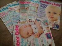 MOTHER AND BABY MAGAZINE SET OF 6 PLUS NURTURE