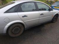 2004 vauxhall vectra spares or repair starts runs and drives no mot £150