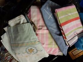 Selection of duvet covers, sheets and pillowcases