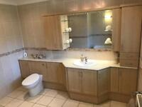 Complete Bathroom suite inc fitted furniture