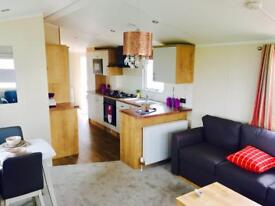 HIGH SPEC STATIC CARAVAN FOR SALE! 2 DOUBLE BEDROOMS WITH ENSUITE! PITCH FEES INCLUDED TILL 2019