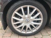 Volkswagen Golf gt 17' alloys
