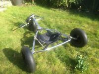 Kite Buggy - Peter Lynn folding buggy
