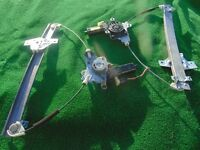 HYUNDAI GETZ Electric Window Motors & Mechanisms (Complete), N/S & O/S. (From a 3dr 2004 1.3GSi)