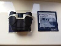 Jenoptik 8x20 ultra compact binoculars.