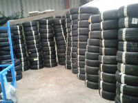 "Large Quantity of Part Worn Tyres 13"" to 21"" Job Lot"