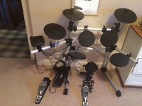 Electric drum kit for sale excellent condition - hardly used £195