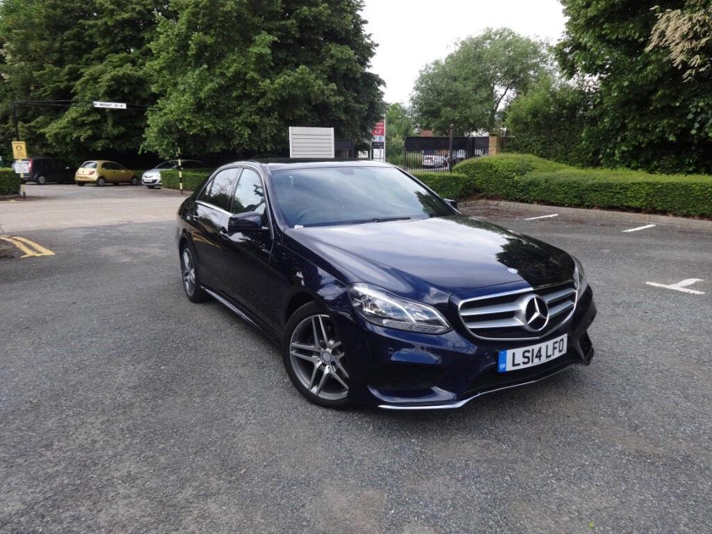 Mercedes benz e class e300 bluetec hybrid amg sport saloon for Mercedes benz e300 hybrid