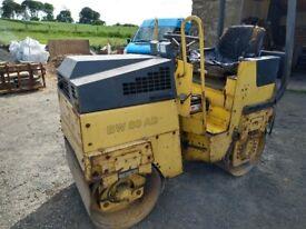 Bomag BW80 Twin Drum Roller - No VAT