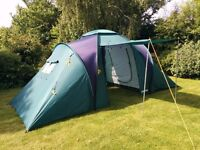 Eurohike 420 TS 4 berth tent for sale