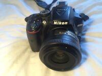 Nikon D5300 DSLR 24mp + wifi with 2 lenses £430