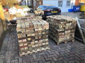 Reclaimed Beautiful Multi Stock Bricks
