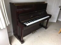 Upright Piano for sale - three pedals, good condition, £1,250.