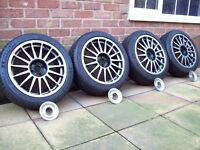 """TEAM DYNAMICS 17"""" ALLOYS - 4X100 - VAUXHALL - ROVER - BMW - MINI - TOYOTA - AND LOTS MORE"""