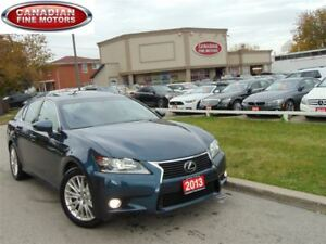 2013 Lexus GS 350 NAVI-SUNROOF-LEATHER-CAM-H.U.D-BSM