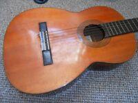 Nagoya Suzuki No 1663 Violin Co Spanish Guitar For Restoration