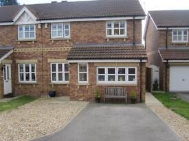 Beverley - 3 bedroom modern semi detached house