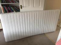 Nearly New - Ikea MALFORS mattress & LUROY slatted bed base