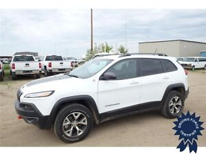 2015 Jeep Cherokee Trailhawk Backup Camera, Front Tow Hooks