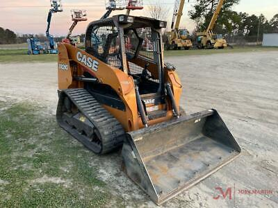 Case Tr 310 Compact Track Loader 2 Speed