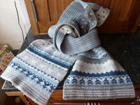 wool scarf - New, Oliver Bonas wrapped and still in packaging