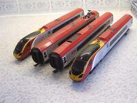 Dapol 00 gauge Virgin Trains Pendolino, Class 390, 4 car set