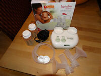 Ameda lactaline double breast pump