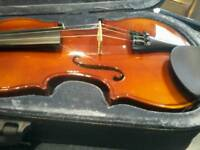 Stagg violin with case