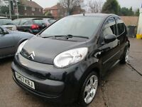 CITROEN C1 RHYTHM HDI 1.4 5 DOOR DIESEL HATCH BLACK
