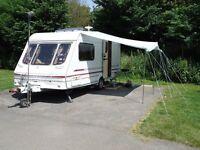 Swift Sandymere touring caravan 2 berth